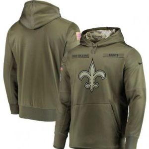 Saints therma pullover hoodie, size small